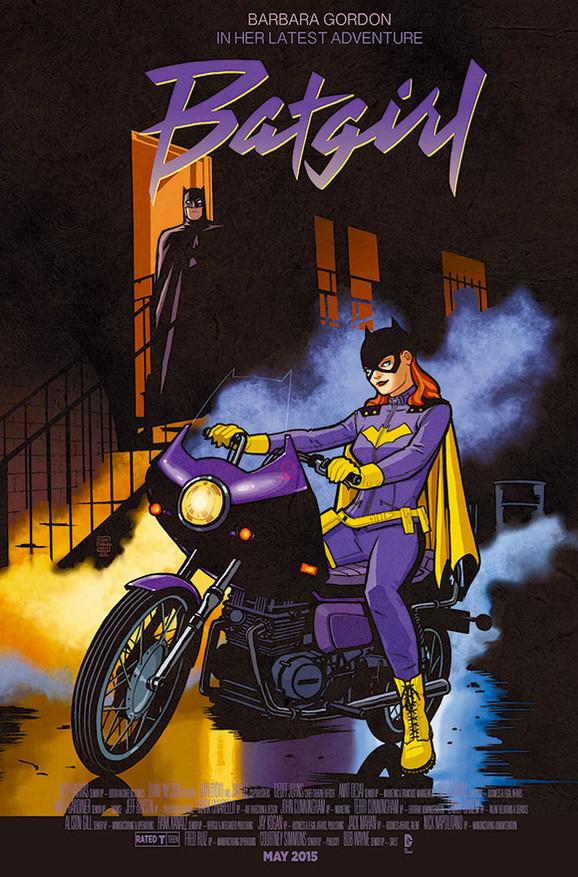 batgirl variant cover